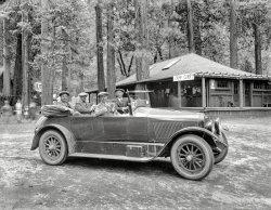 L.A. to Yosemite: 1920