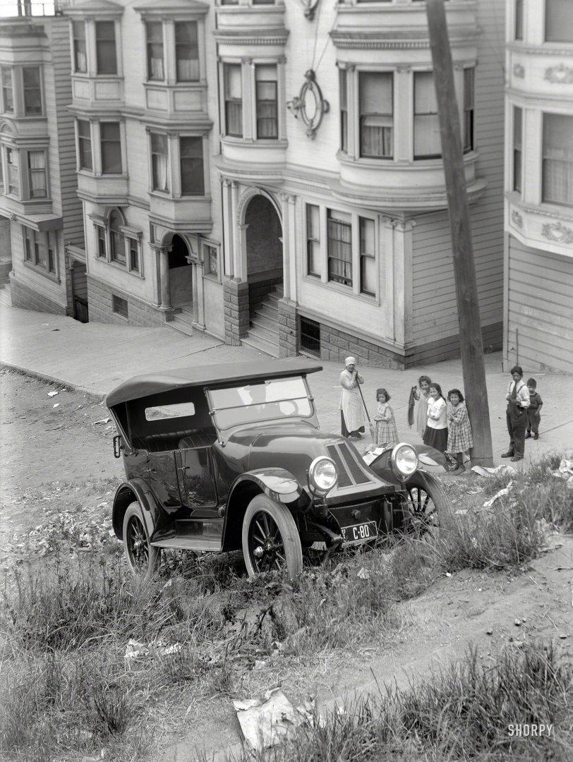 Sidewalks Are for Sissies: 1920