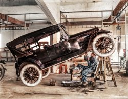 Jacked Up (Colorized): 1919