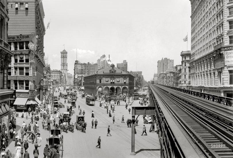 Herald Square: 1908