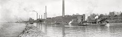 Buffalo Dredging: 1905