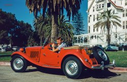 Little Red MG: 1953
