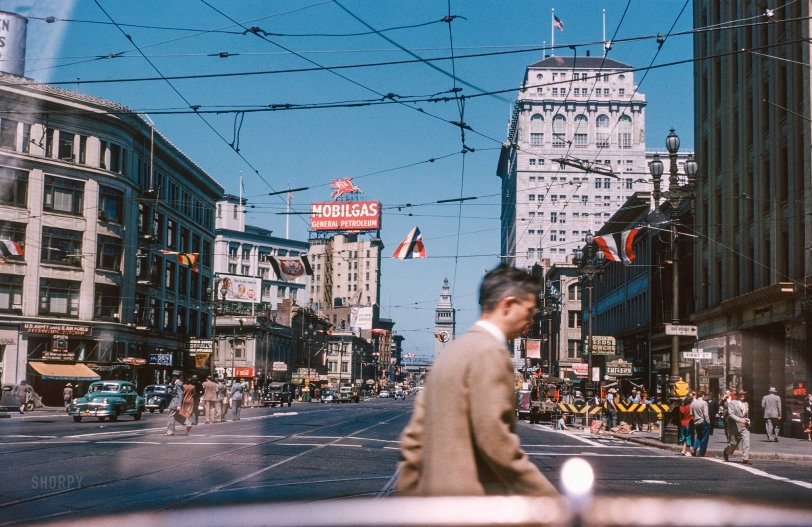 Market Street: 1947