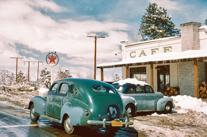 Cafe Texaco: 1950