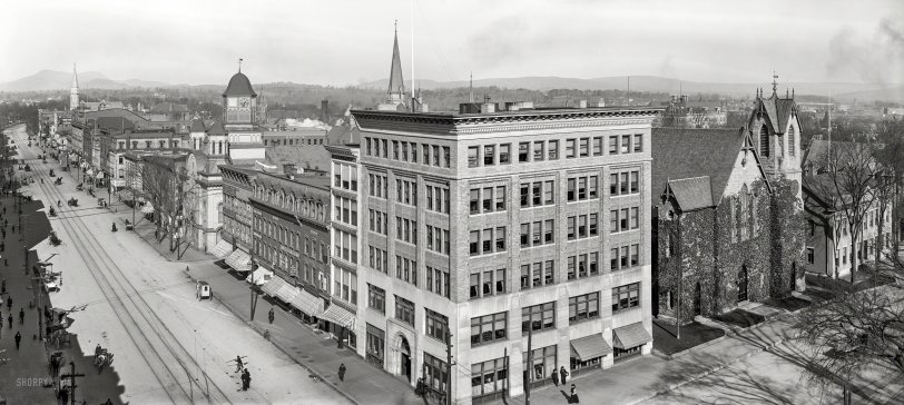Pittsfield Panorama: 1906