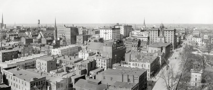 Richmond Panorama: 1912