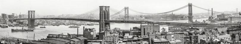 East River Bridges: 1908