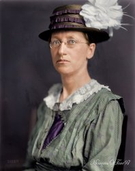 Emily Greene Balch (Colorized): 1920