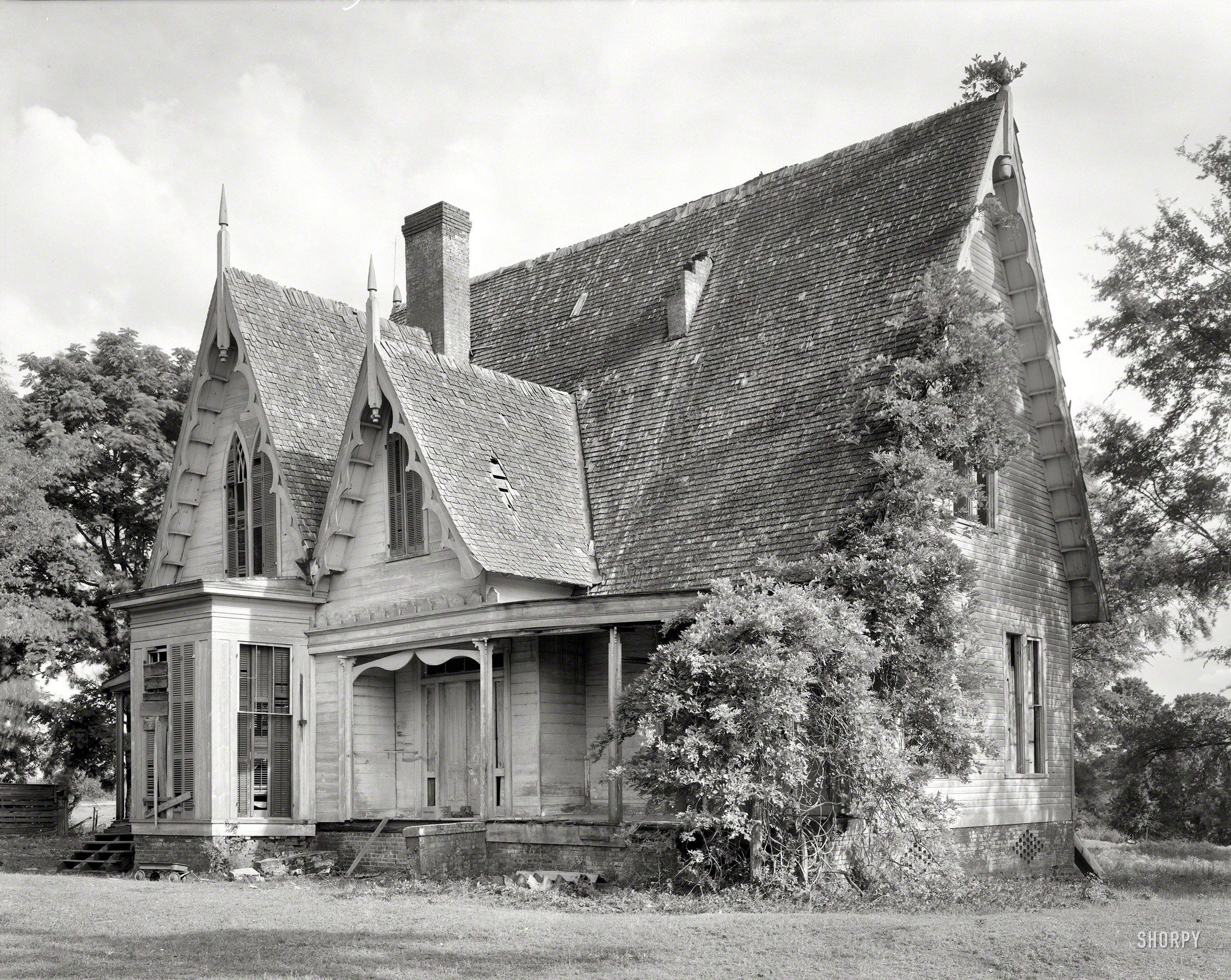 Shorpy Historic Picture Archive Carpenter Gothic 1939
