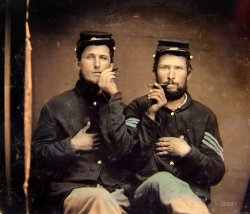 Second-Hand Smokers: 1860s