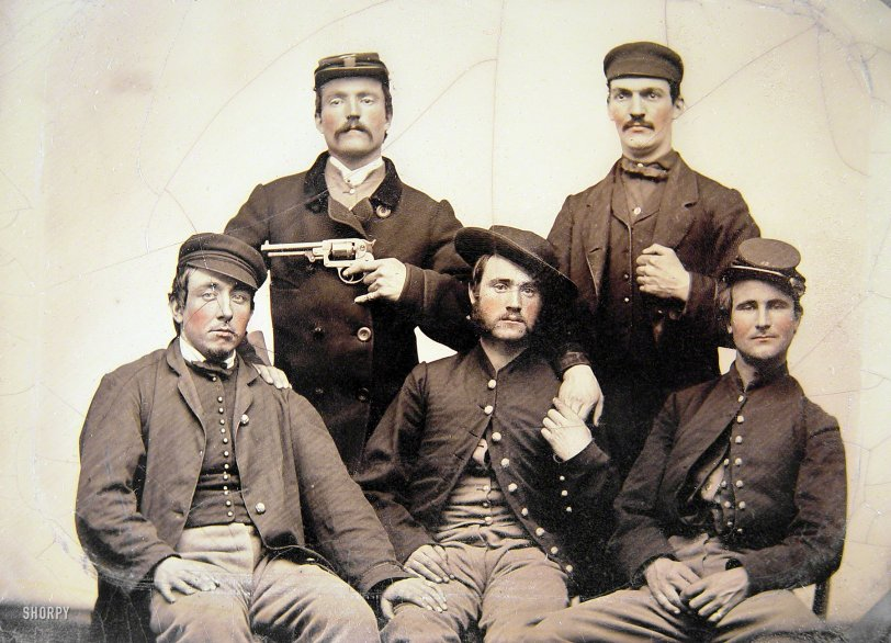 Droll Soldiers: 1860s