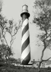 St. Augustine Light: 1936