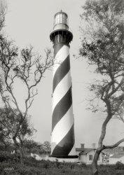 St. Augustine Light: 1936