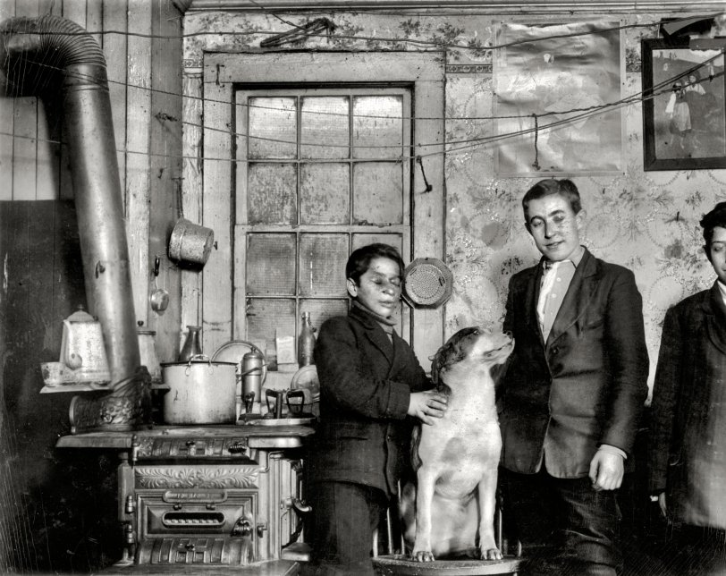 Garçons Buffalo: 1910
