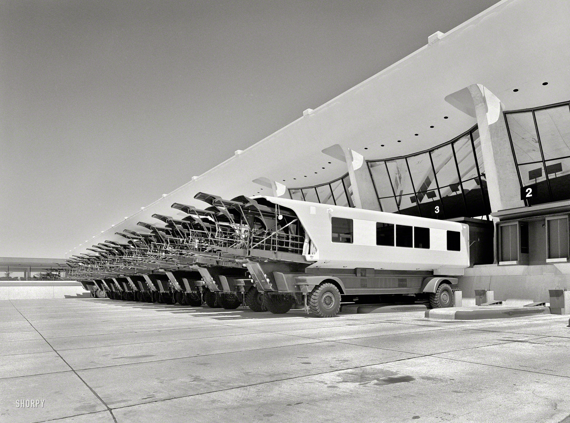 Shorpy Historic Picture Archive Airport Transport 1963