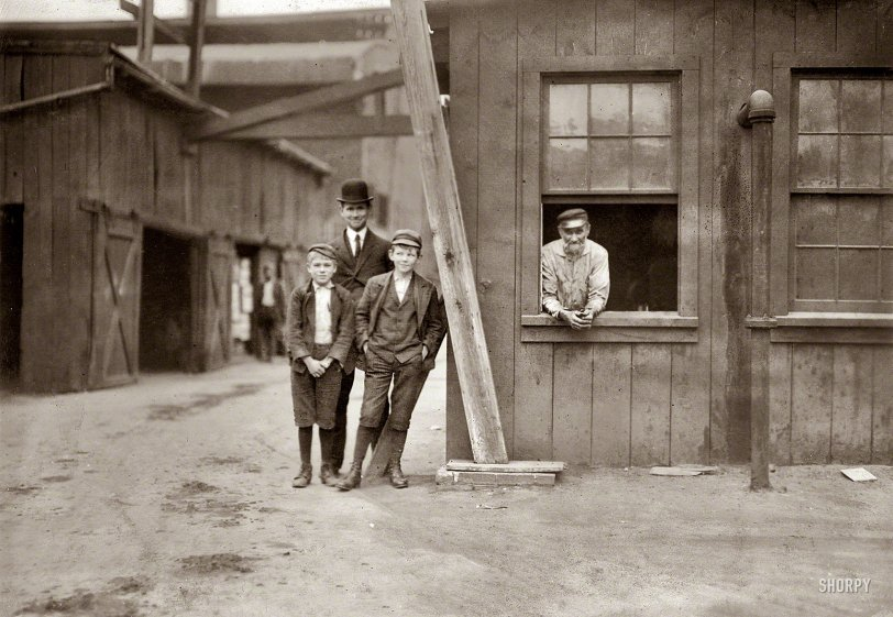 Industrious George: 1909
