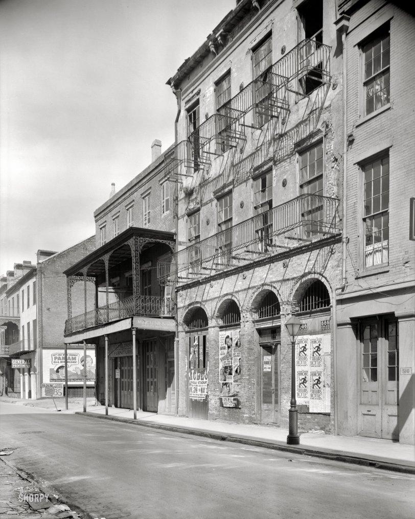 Dufilho Pharmacy: 1936
