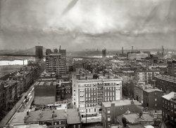 Three Brooklyn Bridges: 1908