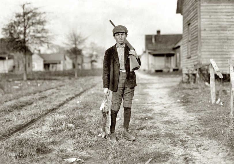 Bunny Hunter: 1908