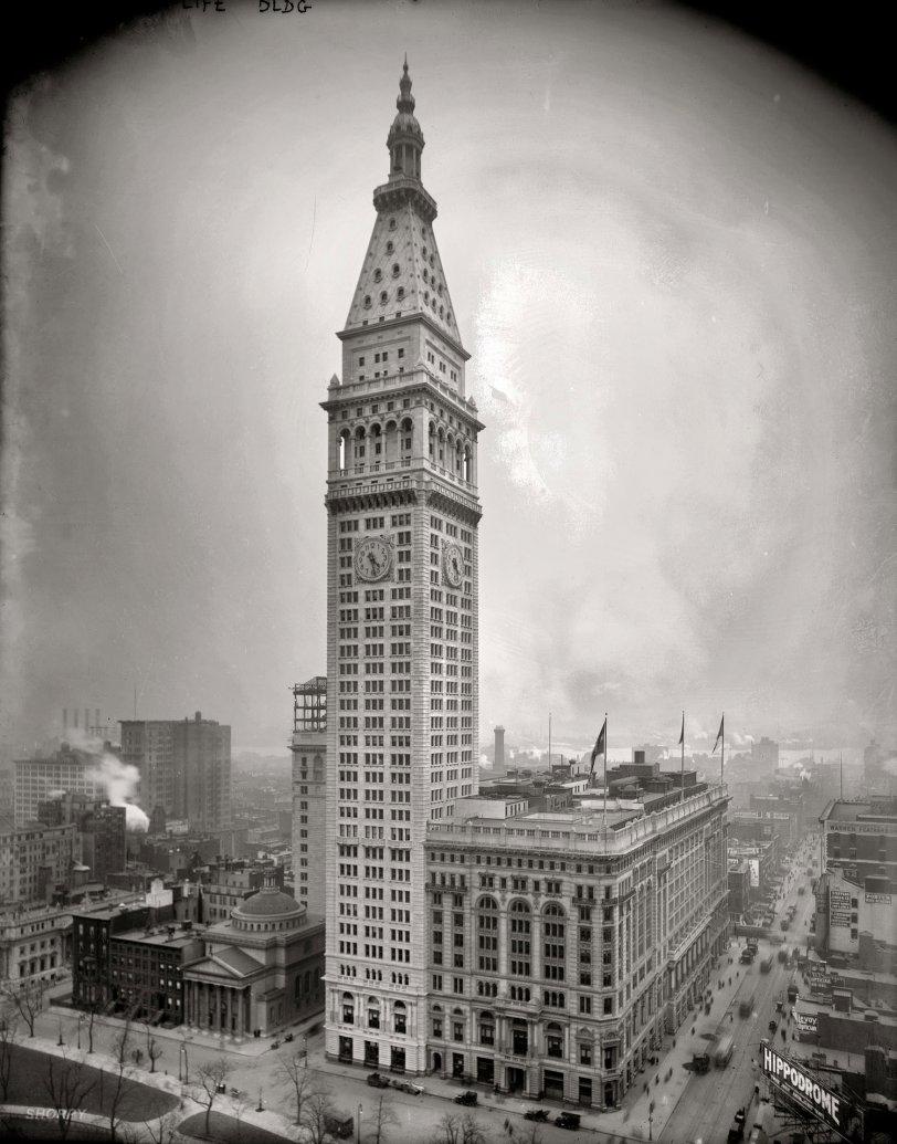 World's Tallest: 1909