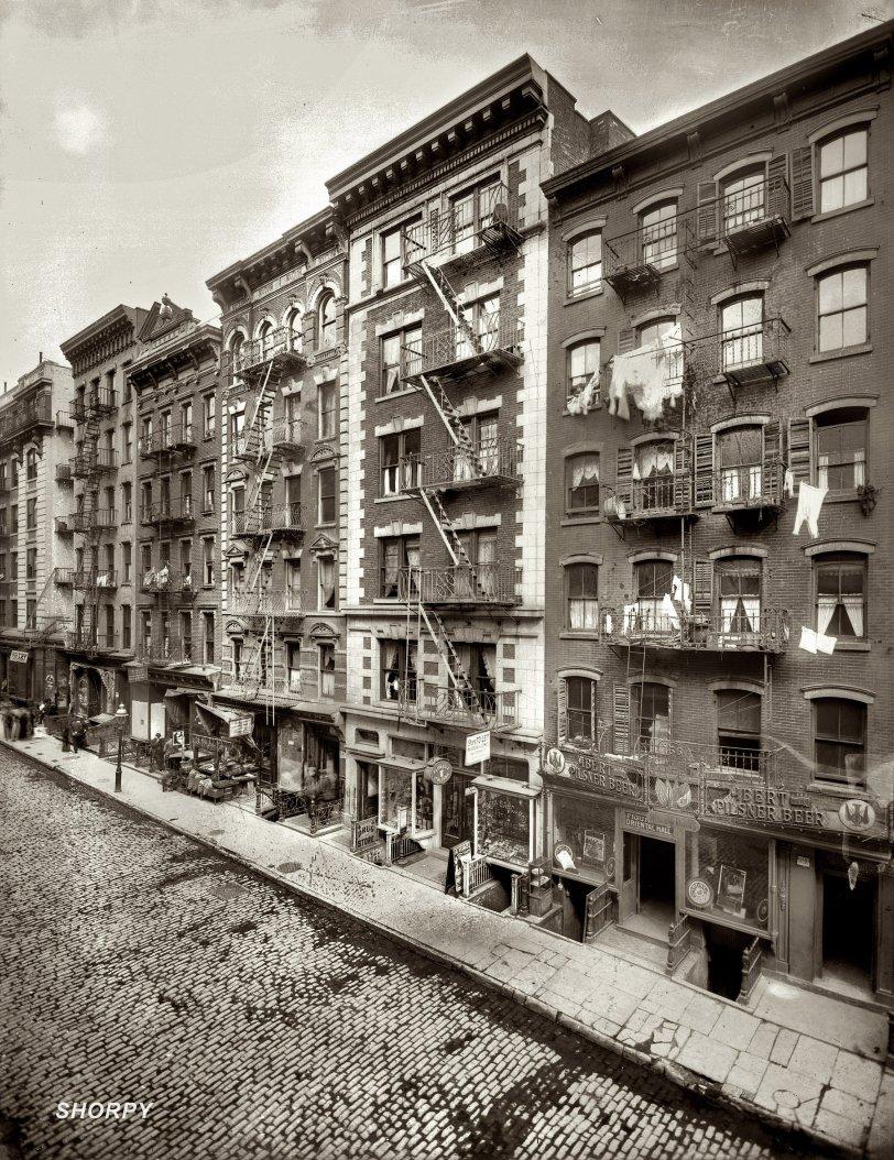 Mott Street Again: 1910