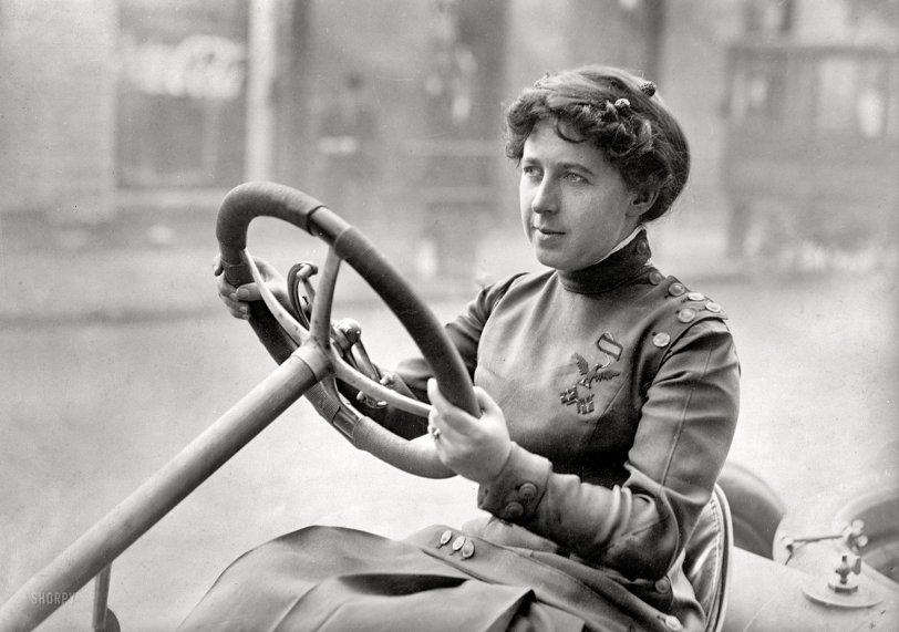 In the Driver's Seat: 1915