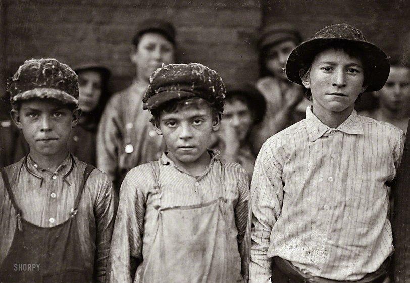 Pell City Doffers: 1910