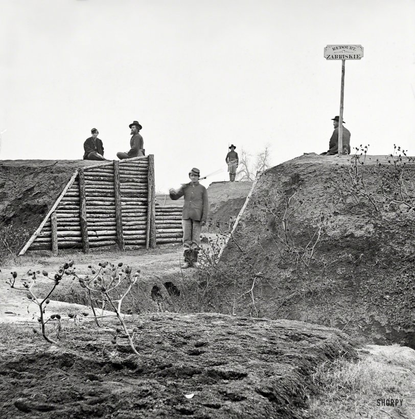 Federal Fortification: 1864
