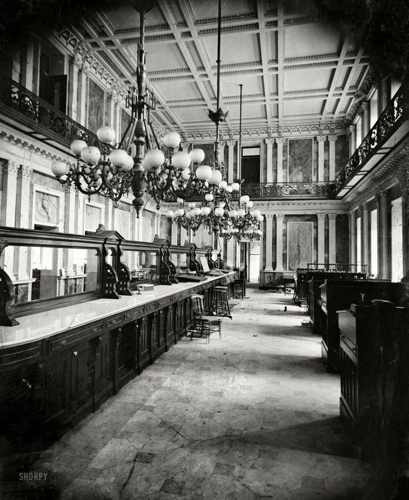 Treasury Ghosts: 1863