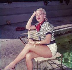 Lana Lounging: 1951