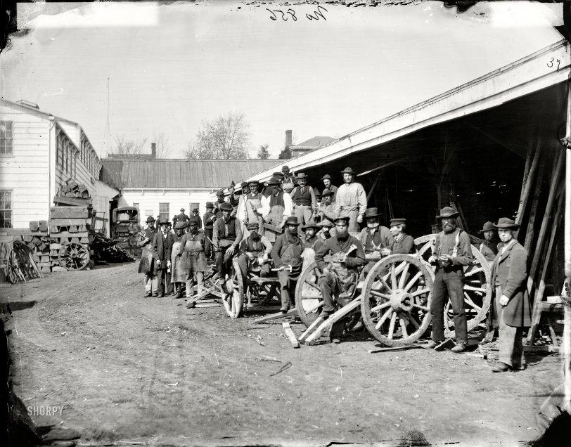 Wheelwright Shop: 1862