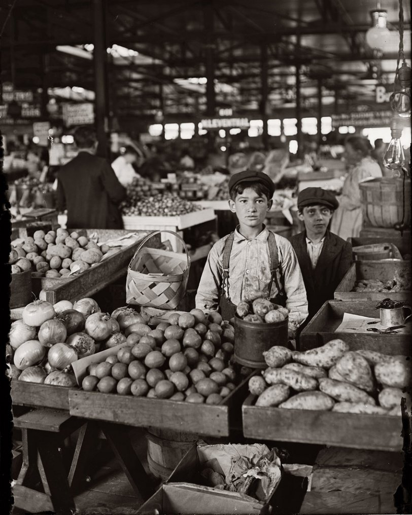 Onions, Limes, Potatoes: 1908