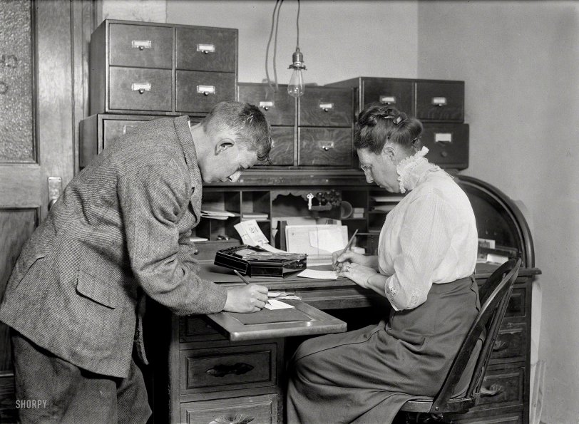 First the Paperwork: 1913