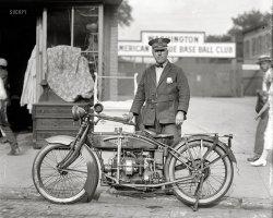 Motorcycle Cop: 1922