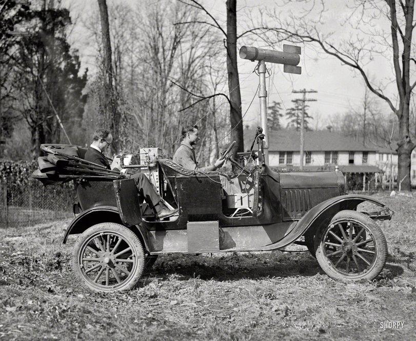 Street View Car: 1923