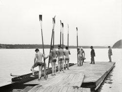 Still Wet Behind the Oars: 1911