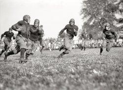 Pug Runs With the Ball: 1923