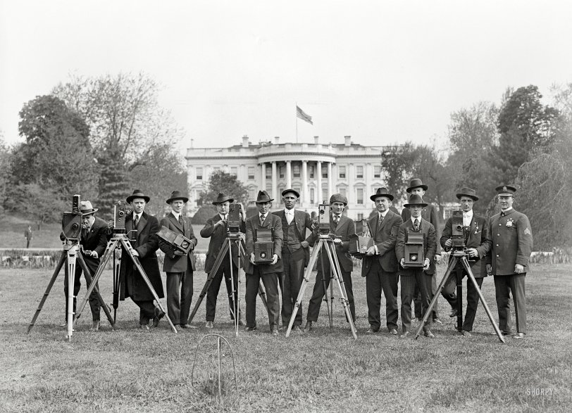 White House Photographers: 1918