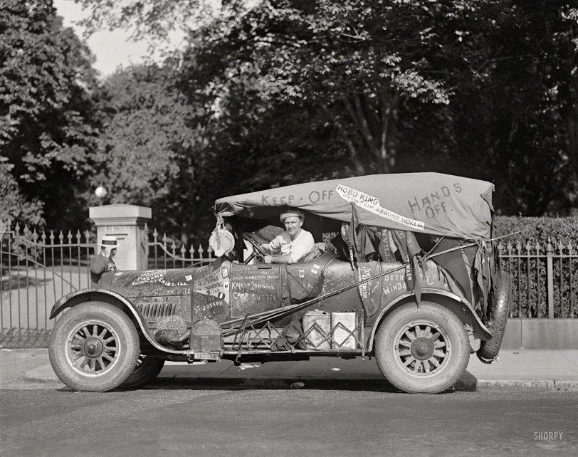 Traveling De Lux: 1924