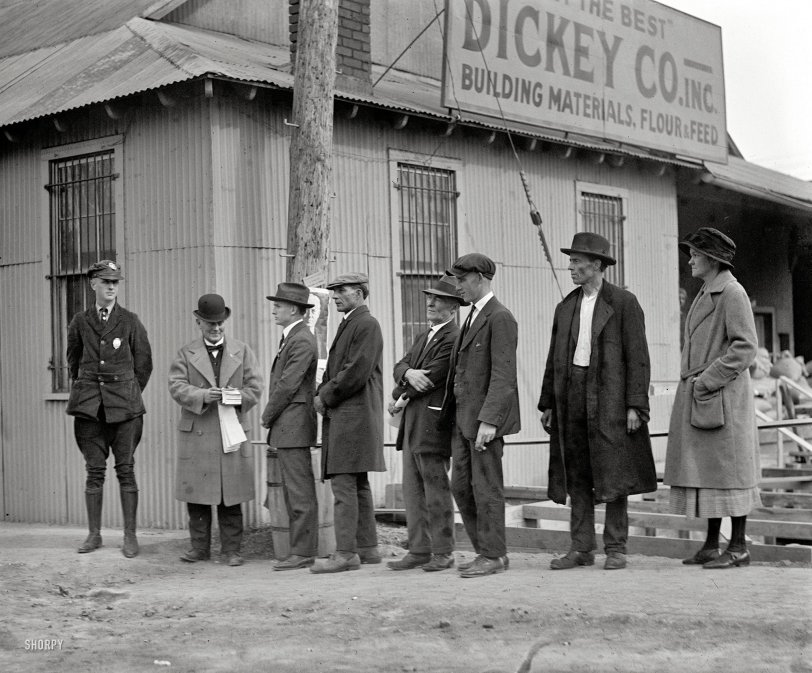 The Voting Line: 1924