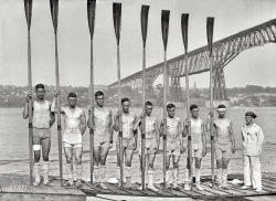 Ready to Row: 1914