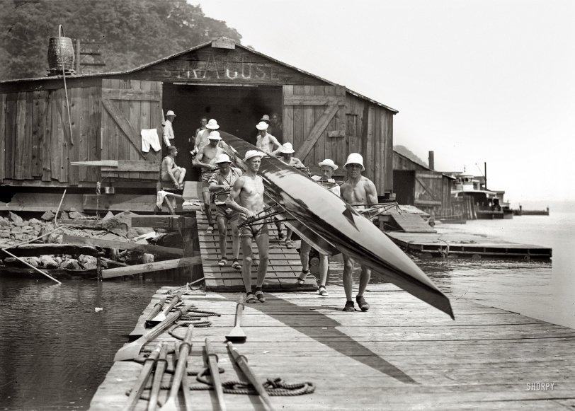 Syracuse Boathouse: 1914