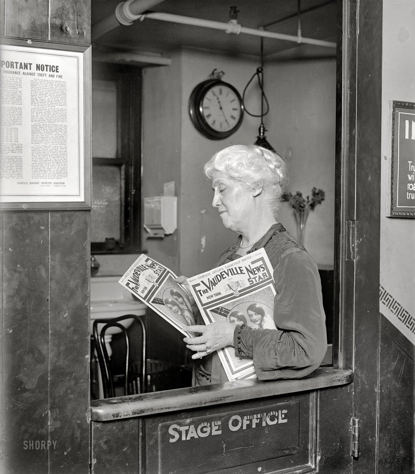 Vaudeville News: 1927