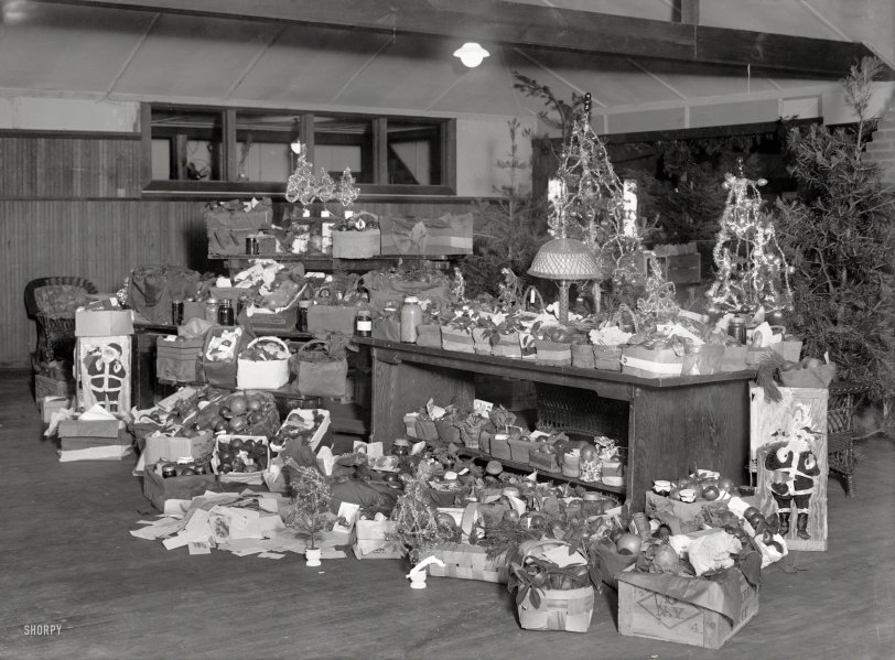 Red Cross Baskets: 1920