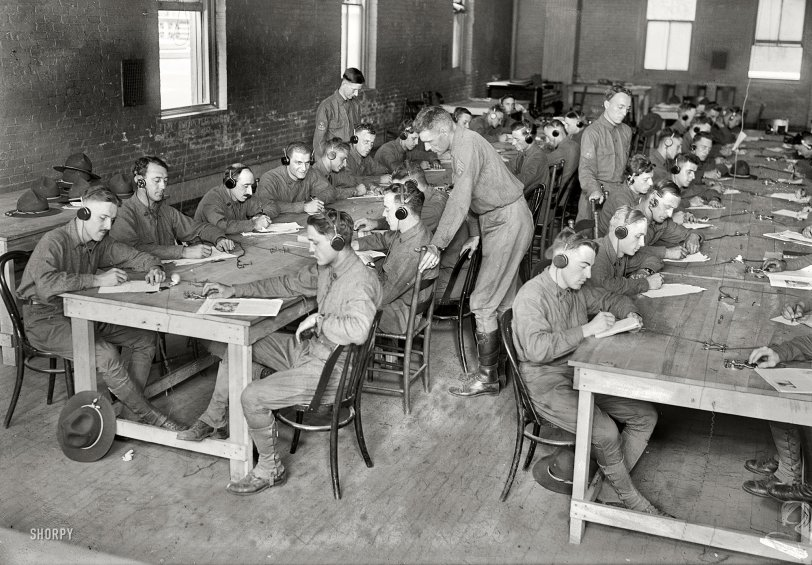 Texting: 1917