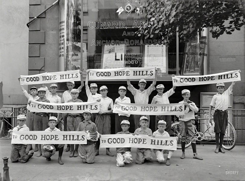 To Good Hope Hills: 1924