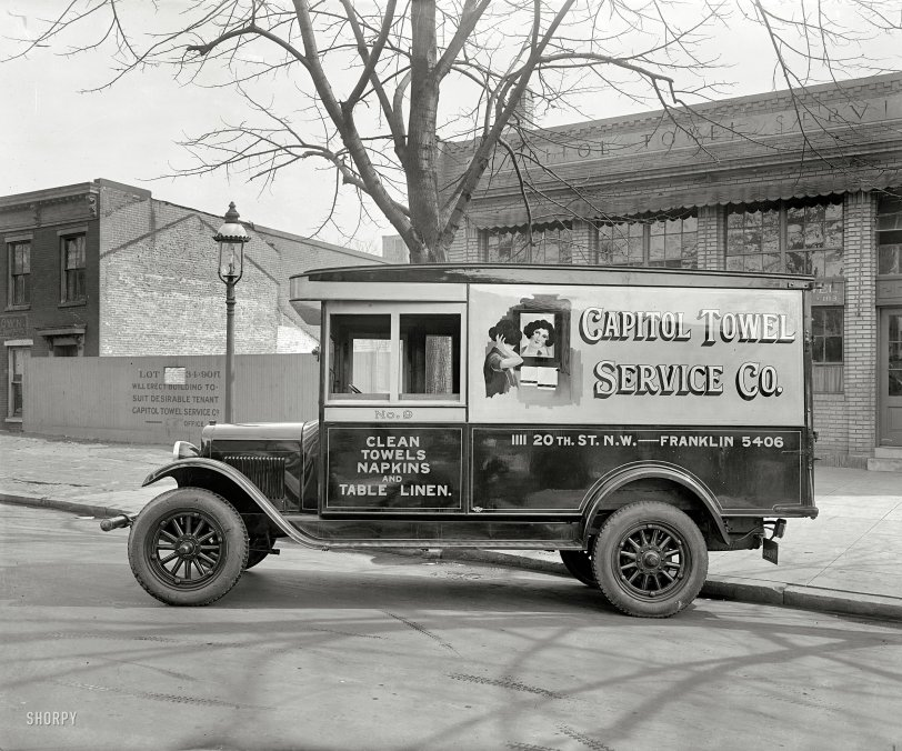 Capitol Towel: 1928