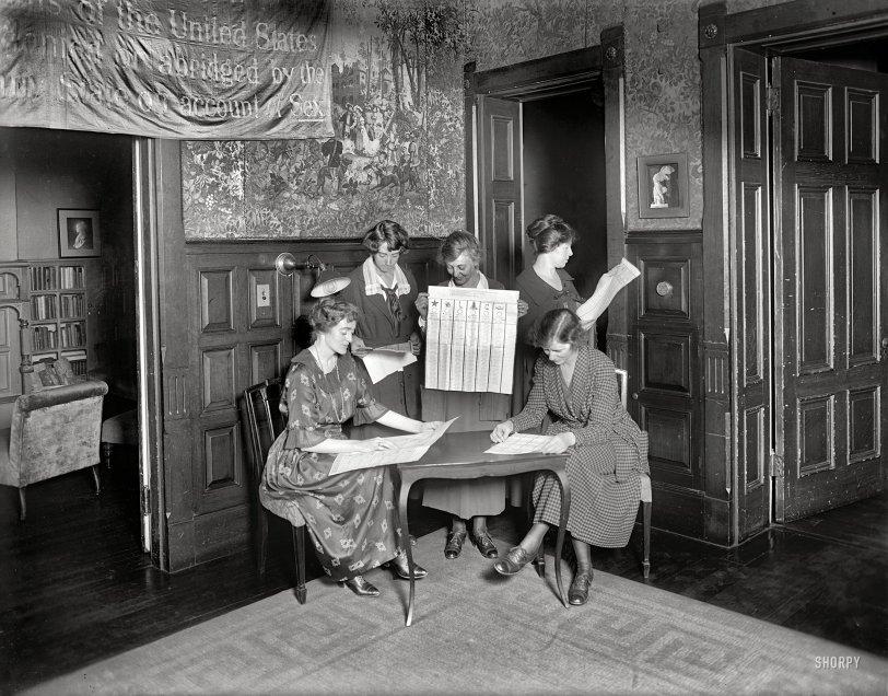 Enfranchised: 1920
