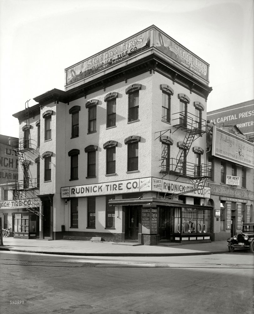 Rudnick Tire: 1921