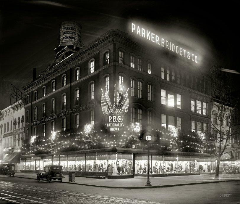 Christmas Corner: 1921